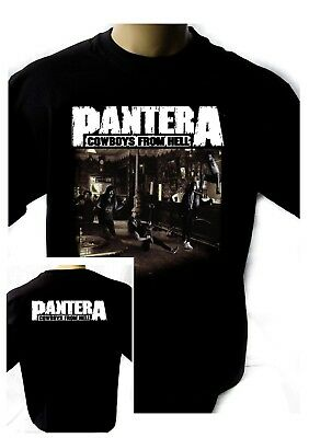 PANTERA COWBOYS FROM THE HELL T-shirt Rock T-shirt Rock Band Shirt Rock Tee