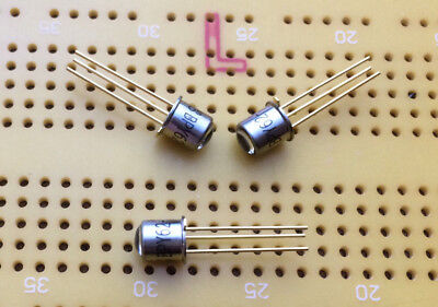 IR Infrared + Visible Phototransistor 16°  3-Pin TO-18 Metal Case Osram BPY 62