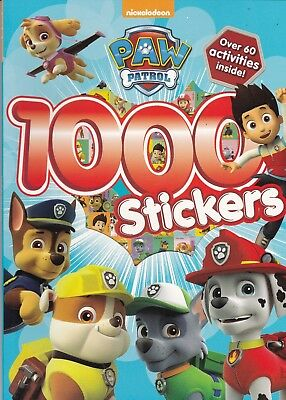 Paw Patrol Sticker Book - 1000 Stickers + Over 60 Activities