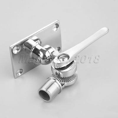 Boat Yachting Radio VHF 316 Stainless Dual Axis Adjustable Mount Base Fittings