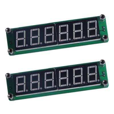 Set De 2pcs RF 6LED RF Signal Frequency Counter 1MHz-1000MHz Cymometer