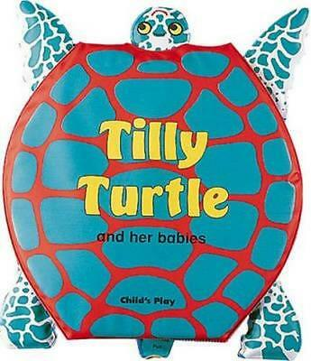 NEW Tilly Turtle and her Babies By M. Twinn Bath Book Free Shipping