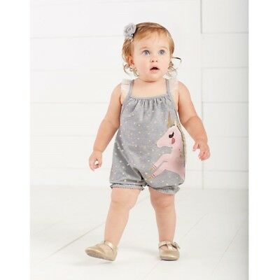 Mud Pie E8 Baby Boy Surfs Up Pelican All-In-One Romper One-Piece 1032416 Choose