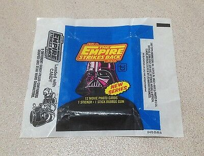1980 Topps The Empire Strikes Back Series 2 - Wax Pack Wrapper (Loaded CANDY)