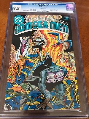 Omega Men #1 CGC 9.8 white pages