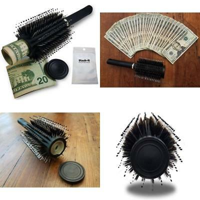 Hidden Safe Container Secret Diversion Can Stash It Jewelry Home Hair Brush NEw