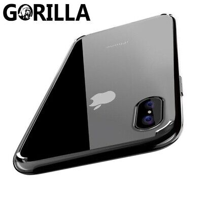 iPhone XS Max XR 8 7 Plus 6S SE 5 Case, Crystal Clear Soft Thin COVER For Apple