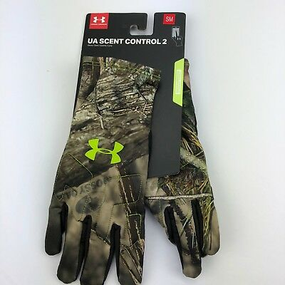 under armour scent control gloves