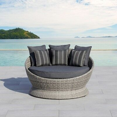 Brisbane Lounge Day Bed Chair For 2-3 Adults Water Resistant