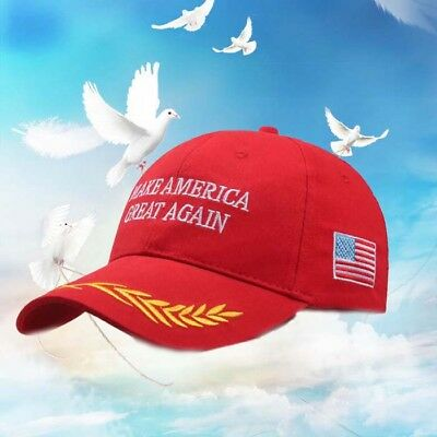 Make America Great Again Donald Trump Hat Republican Embroidered Baseball Cap