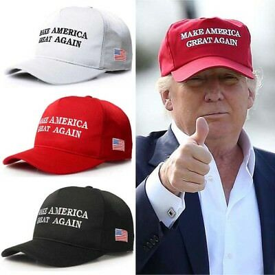 Make America Great Again Hat Donald Trump Republican Adjustable Unisex Mesh Cap