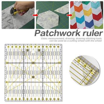 Acrylic Quilting Quilter's Ruler Drawing Line Sewing Clothing Square Patchwork