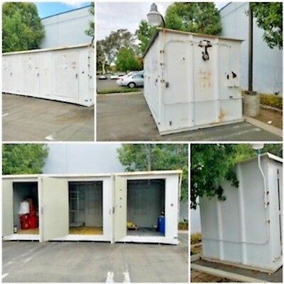 Hazmat 22' Long / 3 Separate Compartments Bays / Container / In Great Shape
