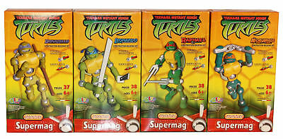 Supermag Turtles Donatello Leonardo Raphael Michelangelo Super Mag Ninja Turtle