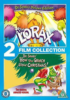 The Lorax/How The Grinch Stole Christmas Double Pack [DVD] [2012] - DVD  G0VG
