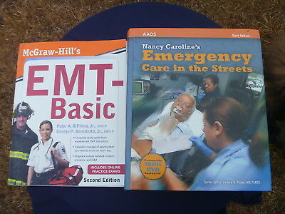 NANCY CAROLINE S EMERGENCY Care In The Streets HC Book Textbook 6th Edition AAOS