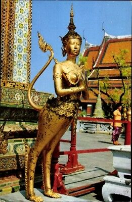 Ak Bangkok Thailand, View of the Keenaree in the Compound of Wat... - 1826786