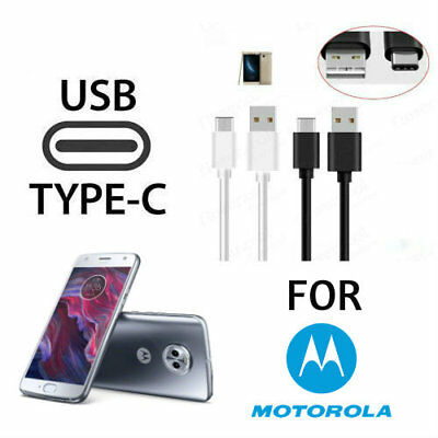 USB Type-C Reversible Data Transfer Charging Cable For Moto M Z Droid X4 Z2 M2
