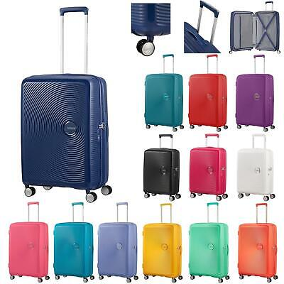 American Tourister by Samsonite Soundbox Spinner Trolley Reise Koffer 55 66 75