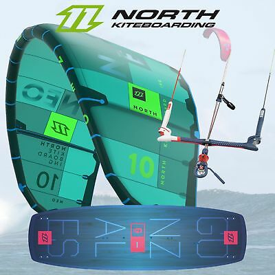 Kite-Einsteigerset: 2018 North Neo + Trust Bar + Gonzales + Pumpe *NEU*
