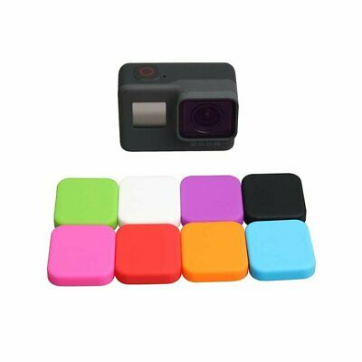 Soft Silicone Protective Lens Cap Cover Case Skin for GoPro Hero 5 6 7 Black