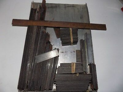 lot of . PERFORATING RULE FOR TYPESETTING/LETTERPRESS galley full