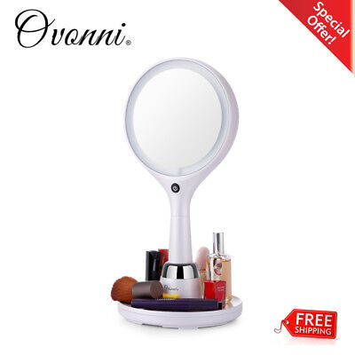 1x/7x Magnifying Double-Sided LED Light Makeup Mirror Vanity Hollywood Cosmetic