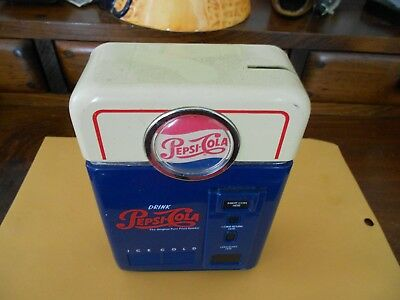 Pepsi Cola Coin Bank Coin Sorter Soda Machine