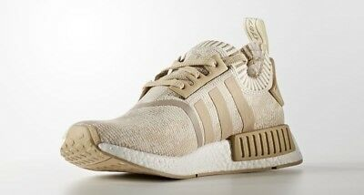 7226cc17bcd ADIDAS NMD R1 Nomad PK BY1912 Linen khaki Tan Primeknit Boost ...