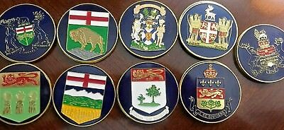 ONTARIO PROVINCIAL COAT of Arms and Flower (Shell Canada