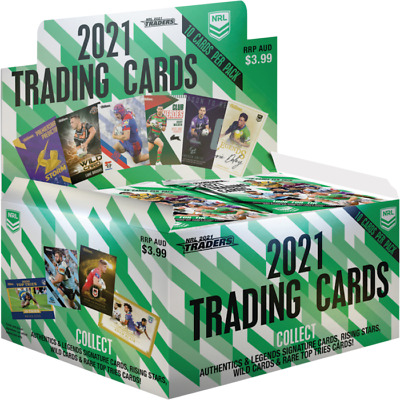 2018 NRL Traders Rugby League Trading Cards Factory Sealed Box 36 Packs FREEPOST