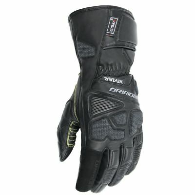 Dririder Apex 2 road motorcycle gloves black ALL SIZES