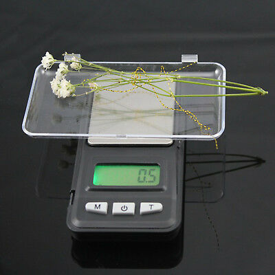 Weighing Small Digital Jewelry Scale Micro Lcd Weight 0.01g Mini Pocket Balance