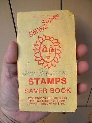 Vintage SUPER SAVERS STAMPS Saver Book with some STAMPS # 25