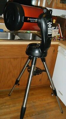 TELESCOPE Celestron NexStar 8SE Telescope with JMI HARD CASE on rollers