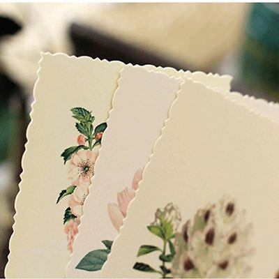 Postcard Card Greeting Card Office Message Note Bookmark School Stationery