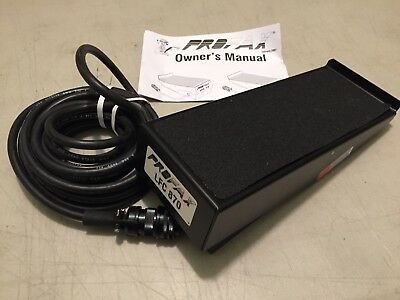 Foot Pedal, Remote Foot Control, Profax LFC 870 Style Foot Amptrol New In Box