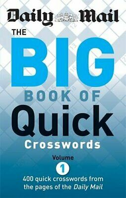 Daily Mail: The Big Book of Quick Crosswords 1 (The D... by Daily Mail Paperback