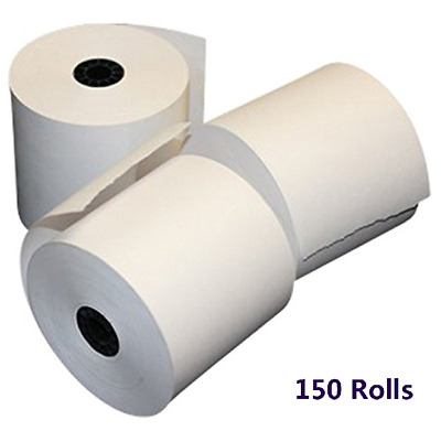 "150 Rolls 2 1/4"" x 50' Thermal Receipt Credit Card Paper Ingenico iCT220 iCT250"