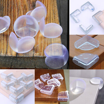 10x Child Baby Safe silicone Protector Table Corner Edge Protection Cover Hot