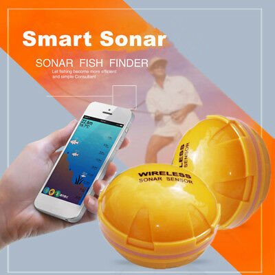 Wireless Bluetooth Sonar Fishfinder Fishing Detector For Android iPhone 2.4Ghz