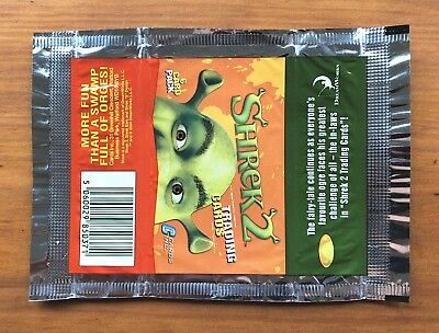 2004 Cards Inc. Shrek 2 - Wrapper