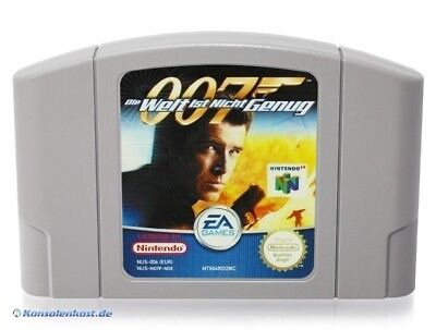 N64 James Bond 007: Die Welt ist nicht genug / The World Is Not Enough