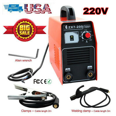 ZX7-200 220V Welding Machine DC Inverter MMA ARC Welder Equipment Metalworking