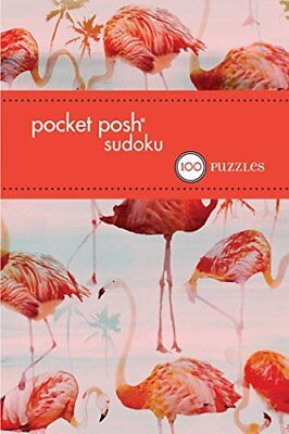Pocket Posh Sudoku 30: 100 Puzzles by The Puzzle Society Book The Cheap Fast