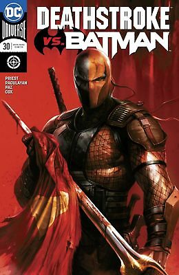 DEATHSTROKE #30 Francesco Mattina Variant Pre Sale 4/4/18