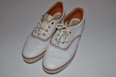 d0723b33bd5 CHAMPIONSHIP SERIES KEDS Baseball 1992 White Red Shoes Womens Size ...