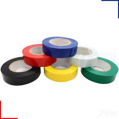 PVC Electrical Insulating Tape 18mm x 20m Rolls Flame Retardant
