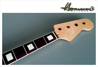 Precision Bass Canadian Maple Neck, Bindings M.o.P. Block Inlay´s  B WARE