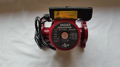 3 speed Circulating Pump 20 GPM use with outdoor furnaces, hot water heat, solar